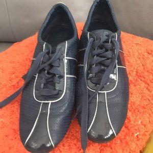 Cole Haan Navy Blue Sneakers